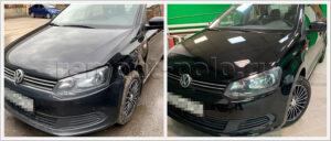 Ремонт и замена деталей кузова Поло седан