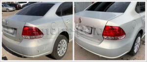 Обширный ремонт кузова Volkswagen Polo седан