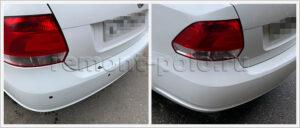 Кузовной ремонт автомобиля VW polo sedan