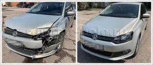 Кузовной ремонт VW Polo sedan после ДТП