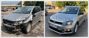 Ремонт кузова автомобиля Volkswagen Polo sedan