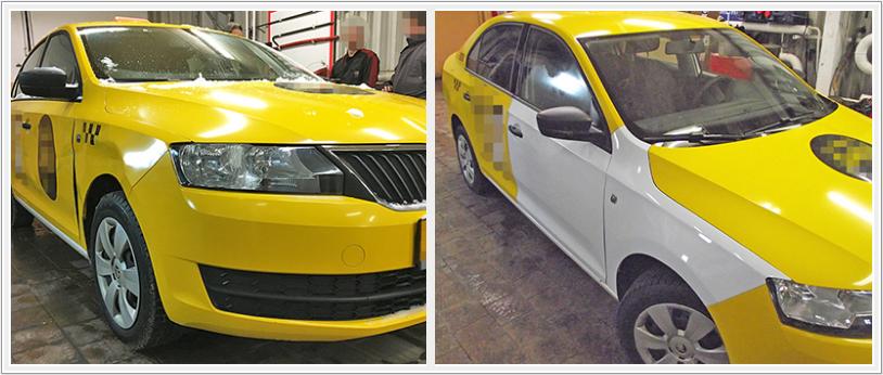 Бюджетный кузовной ремонт VW Polo и Skoda Rapid
