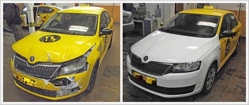Доступный кузовной ремонт VW Polo седан, Skoda Rapid