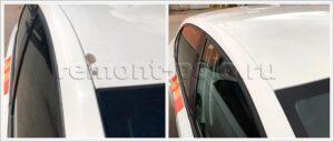 Ремонт крыши VW Polo седан