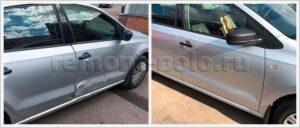 Ремонт и замена элементов кузова Polo седан