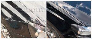 Ремонт седана VW Polo с восстановлением ЛКП