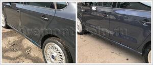 Замена дверей на автомобиле Volkswagen Polo седан