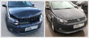 Фотоотчет о ремонте кузова Volkswagen Polo седан