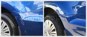 Ремонт крыла и бампера Volkswagen Polo седан