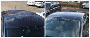 Замена крыши и лобового стекла VW Polo седан