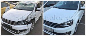 Восстановление рестайлингового VW Polo седан