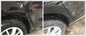 Ремонт двери и крыла Volkswagen Polo седан