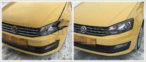 Ежедневный кузовной ремонт Volkswagen Polo седан