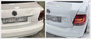 Ремонт крыла и крышки багажника Volkswagen Polo