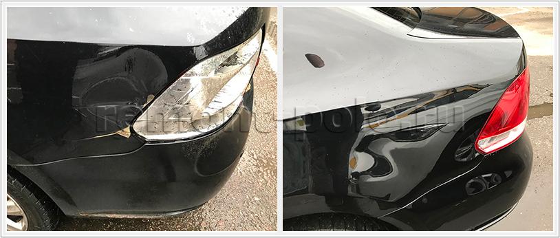 Ремонт и покраска крыла заднего VW Polo