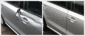 Замена дверей на автомобиле VW Polo седан