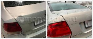 Замена, ремонт и покраска деталей кузова VW Polo седан