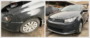 Ремонт VW Polo в кузовном сервисе