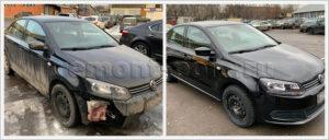 Замена бампера и ремонт деталей кузова Поло